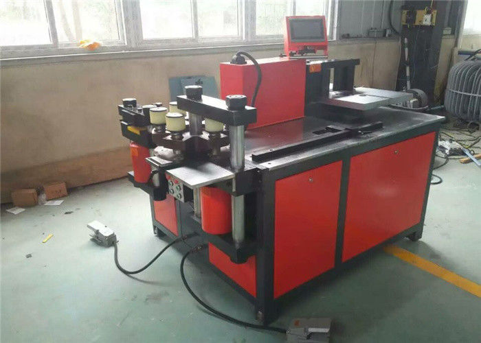Multifunction Busbar Punching Bending Cutting Machine Three In One Easy To Install