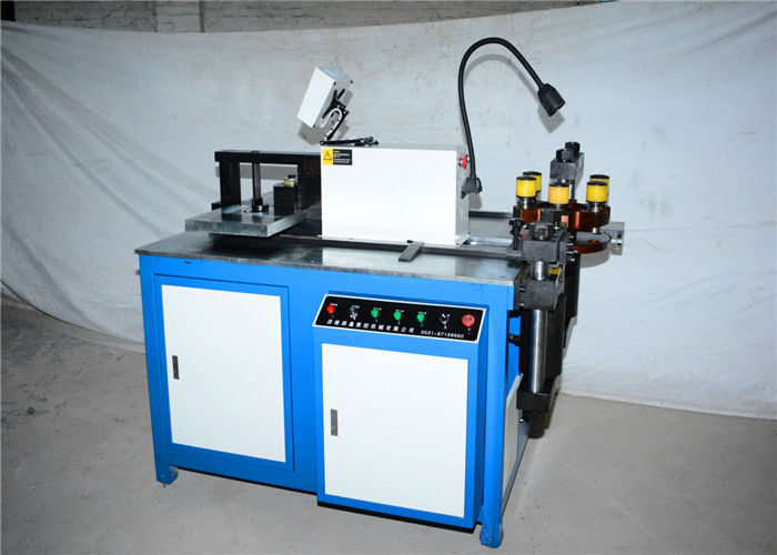 6.5KW CNC Busbar Bending Machine , Copper / Aluminium Bending Machine PLC Control