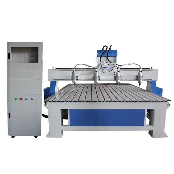 S1825 One For Four Multi - Head Woodworking CNC Machine For Wood Relief Craving